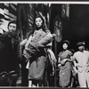 France Nuyen and cast members in the stage production The World of Suzie Wong