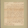 Letter to William Denny [Philadelphia]