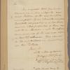 Letter to Col. [Goose] Van Schaick