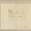 Letter to [Horatio] Gates, New York
