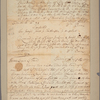 Letter to James Logan [Philadelphia]