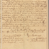 Letter to Gov. [Horatio] Sharpe [Annapolis, Md.]