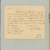 Letter to Edward Physick, Receiver General [Philadelphia]