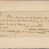 Letter to Dr. [Richard] Tootell, surgeon to the troops at Annapolis