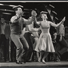 Ron Husmann and Anita Gillette in the stage production All American