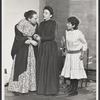 Clarice Blackburn (center) and unidentified cast members in the state production American Gothic