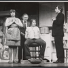 Loretta Fury, Henry Calvert, Kathryn Grody, and Martin Shakar in the stage production And Whose Little Boy Are You?