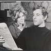Geraldine Page and Angelo Mango in the stage production Angela