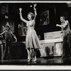 Arlene Dahl and unidentified actors in the stage production Applause