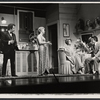 Brandon Maggart, unidentified actress, Arlene Dahl, and John Gabriel in the stage production Applause