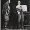 Unidentified actor and Kathleen Widdoes in the New York Shakespeare Festival stage production As You Like It
