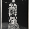 John Tillinger and Roberta Maxwell in the stage production Ashes