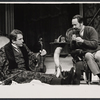 Fritz Weaver and Peter Sallis in the stage production Baker Street