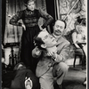 Paddy Edwards and Peter Sallis in the stage production Baker Street