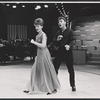 Guest hostess Florence Henderson and Robert Kaye rehearsing for the August 11, 1964 episode of the TV variety series The Bell Telephone Hour