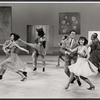 "Susan Watson (far right) and dancers performing in the ""Lyrics by Oscar Hammerstein"" episode on the TV variety series The Bell Telephone Hour"