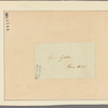 Letter to [Horatio] Gates, Rose hill [New York]