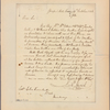 Letter to John Trumbull, 256 Broadway [New York]