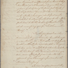 Letter to Major [James Henry] Craig, 82nd Regiment [Charleston]