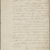 Letter to Major [James Henry] Craig, 82nd Regiment [Charleston]
