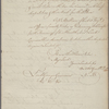 Letter to Lord George Germaine [London]