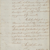 Letter to Lt. Col. George Campbell, Georgetown
