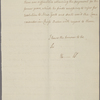 Letter to Lt. Col. [John] Thomas, James Island