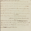 Letter to Capt. Swiney, commanding His Majesty's Ships of War