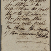 Autograph letter signed to Charles Ollier, [17-19 August 1819]