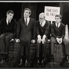 Jonathan Miller, Peter Cook, Alan Bennett and Dudley Moore in the stage production Beyond the Fringe