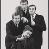 Don Cullen, James Valentine, Joel Fabiani and Robert Cessna in the stage production Beyond the Fringe '65.
