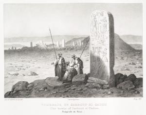 Tombeaux de Sarbout el Cadem [Sarabit al-Khadim] (presqu'isle de Sinai) (1)