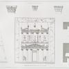 """Restauration du Khasné [al-Khazneh = """"Treasury""""] (Petra)."""
