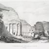 Tombeau au sud de la ville (Petra).