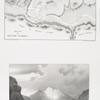 Plan de Ouadi Sabra ; Vue du tombeau du prophéte Aaron, (Mont Hor [Jabal Haroun]).