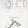 Relevé topographique de Ras Mohammed; Relevé topographique de Ouadi  Hebran;  Plan de la forteresse de Tor.