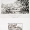 Site et ruines de Feiran (presqu'isle de Sinaï); Relevé topographique de la vallée de Feiran (presqu'isle de Sinaï).