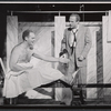 Unidentified actor and Jack Warden in the stage production The Body Beautiful