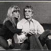 Publicity photo of Blythe Danner and Keir Dullea in the stage production Butterflies Are Free