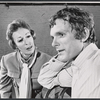 Publicity photo of Eileen Heckart and Keir Dullea in the stage production Butterflies Are Free