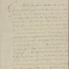 Letter to Louis Marie, Vicomte de Noailles