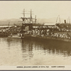Admiral Jellicoe landing at Suva, Fiji.