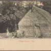 Village scene--Fiji