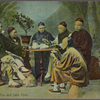 A Chinese tea and cake party.