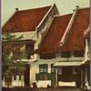 Batavia. Oud Hollandsche huizen.