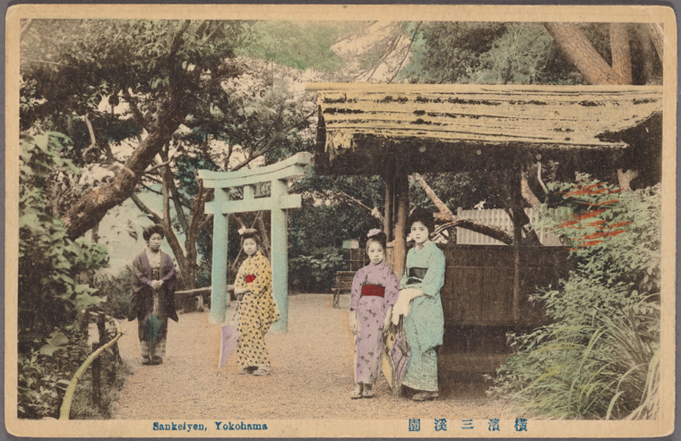 This is What Sankeien Looked Like  in 1907