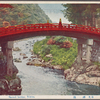 Sacred bridge, Nikko.