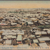 (After great earthquake Yokohama) view of city.