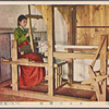 Traditional loom.