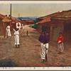 Village street scene.
